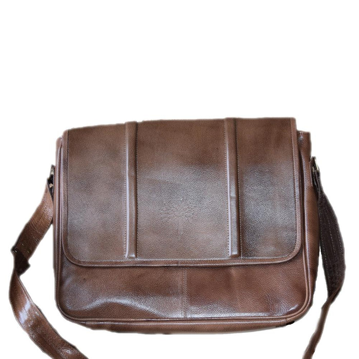 Men's leather Laptop/ Messenger bag