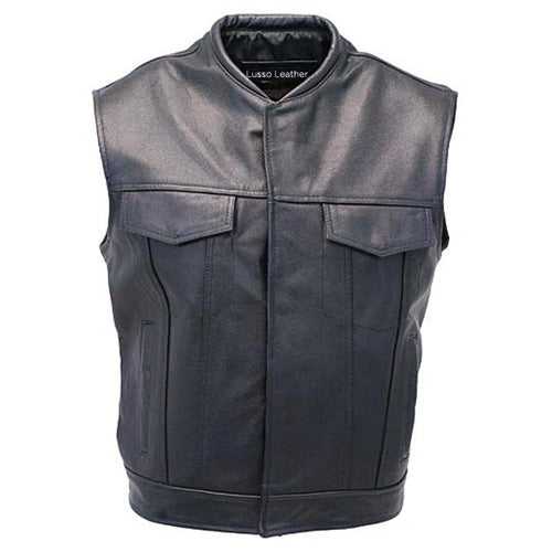 leather vest motorcycle