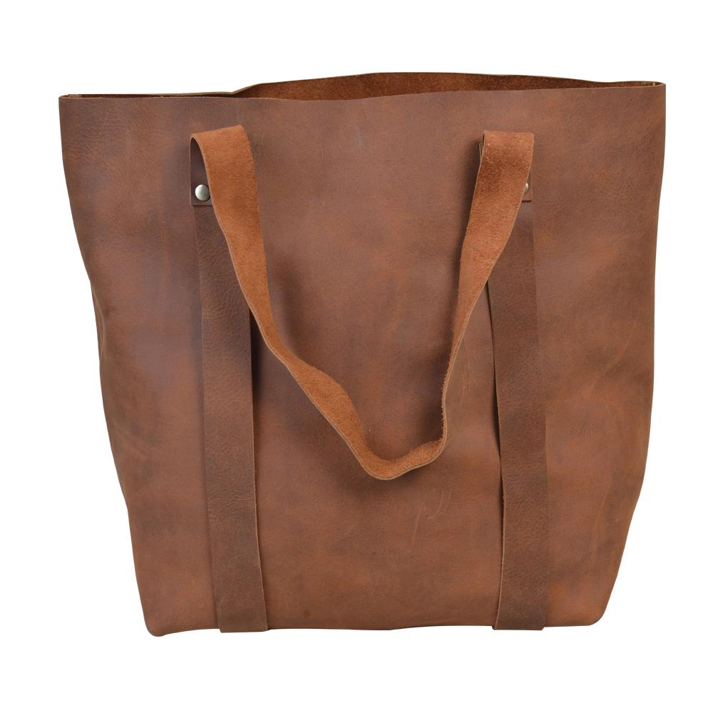 Siya's Leather Tote Bag