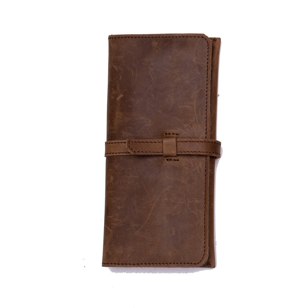 Women's Leather Organizer Wallet with Coin pocket