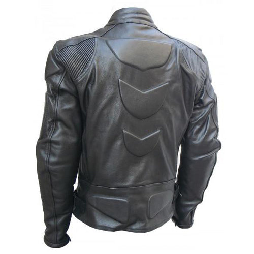 Motorcycle jacket with armor protection - Lusso Leather - 2
