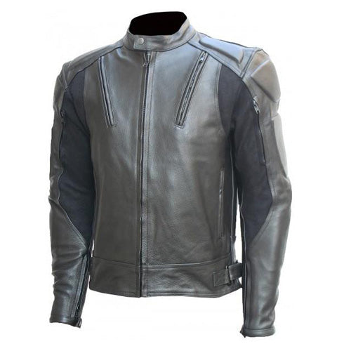 Motorcycle jacket with armor protection - Lusso Leather - 1