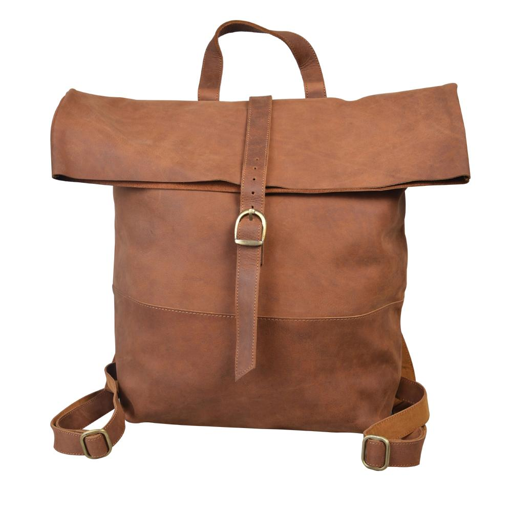 Wiggins Roll Top Vintage Style backpack