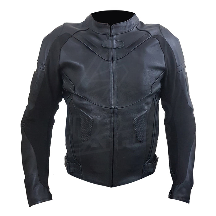 Airflow 2.0 Black Premium Leather Armored Motorcycle Jacket