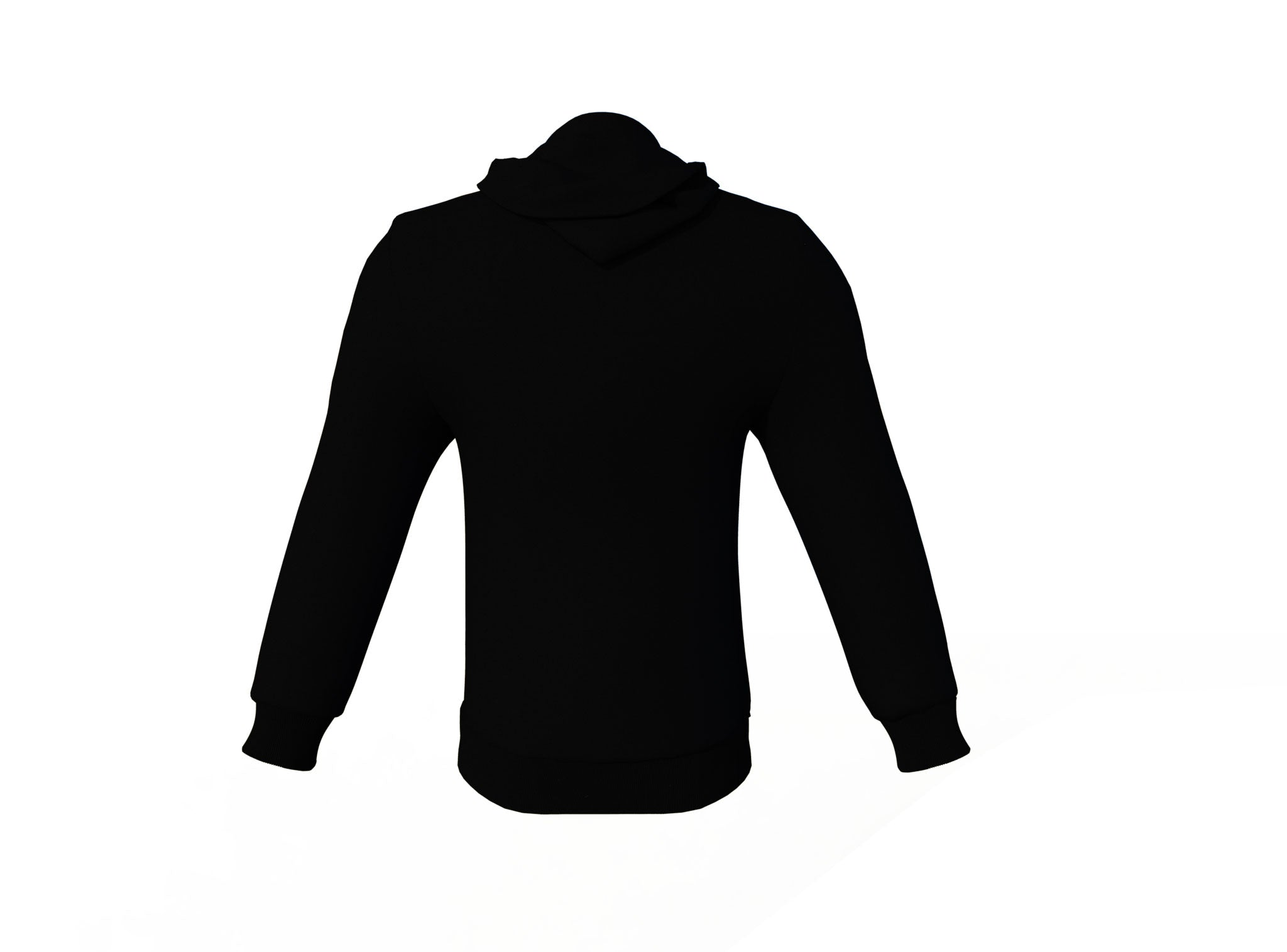 Black Varsity Letterman Jacket with Black Sleeves