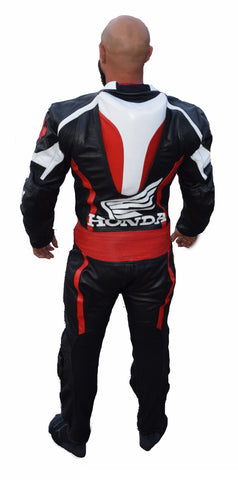 Canadian honda motorcycle leather suit