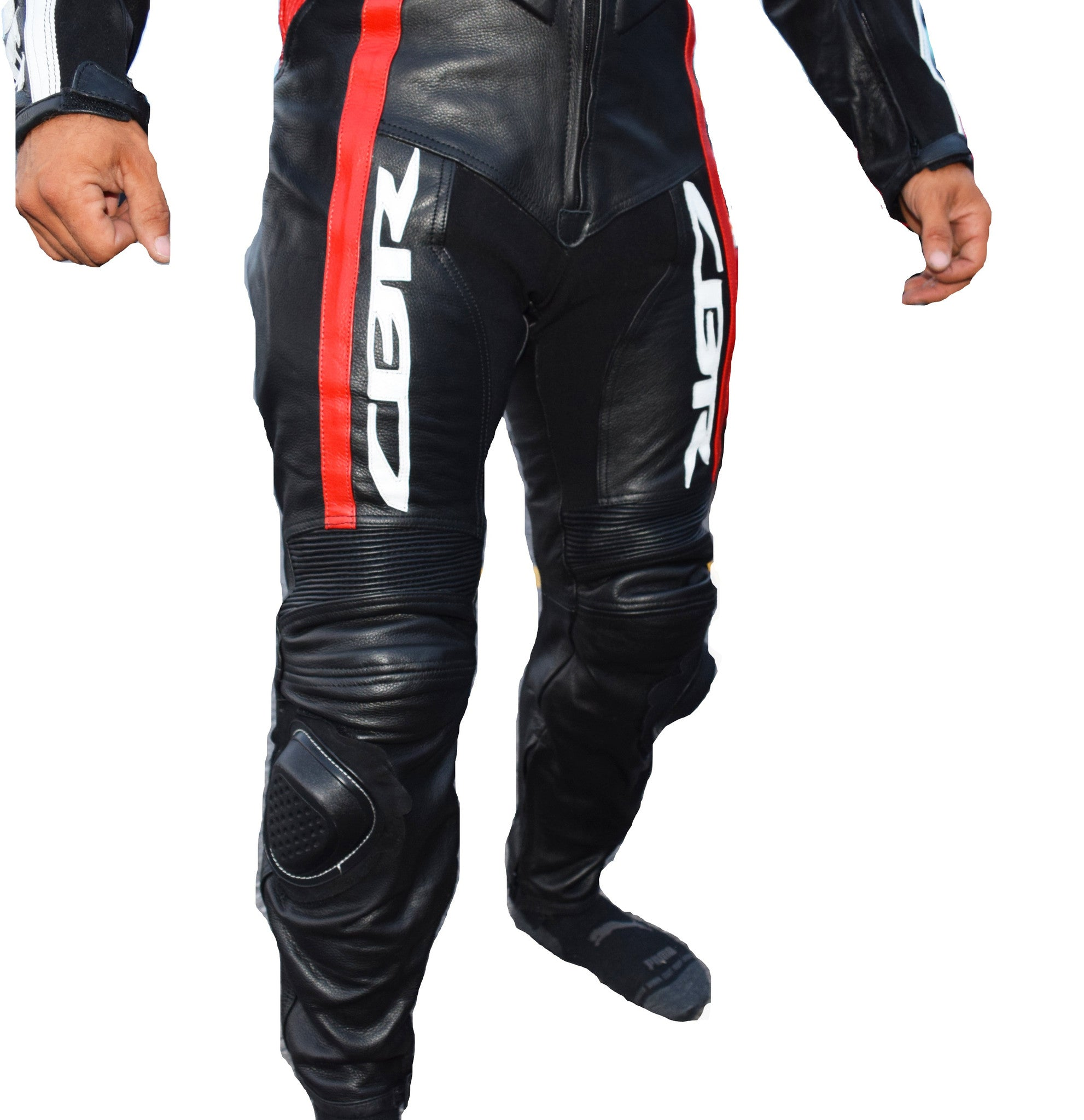 Canadian honda motorcycle leather suit - Lusso Leather - 5