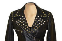 Aliesha's Biker style jacket with studs