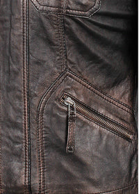 Women's Joliet Black Leather Jacket