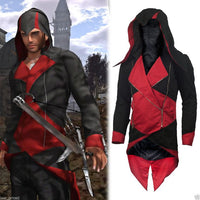 Assassins Creed 3 cosplay jacket with Hoodie