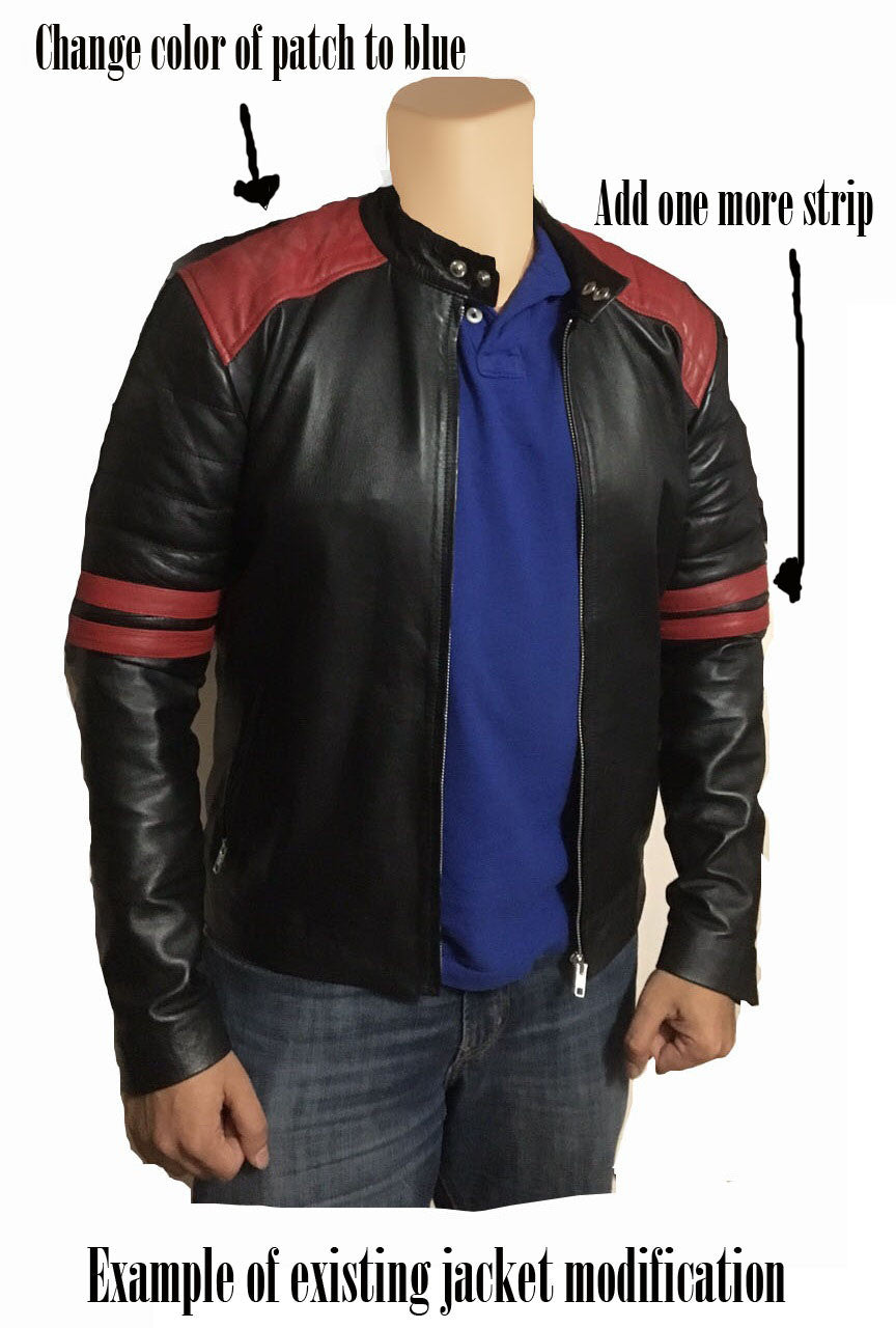 Custom Leather jacket - Lusso Leather - 3