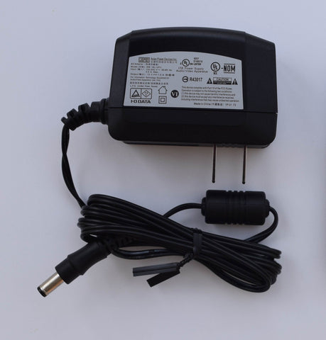 APD Power Supply / Adapter Cord 12 VDC 1.5 Amp