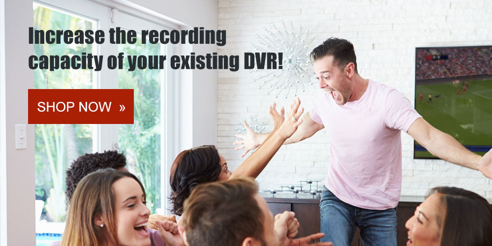 DVR Upgrade - Internal & External Hard Drives / Expanders