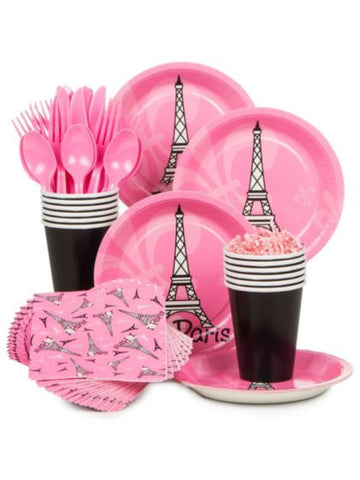 Paris Party Kit- Serves 8