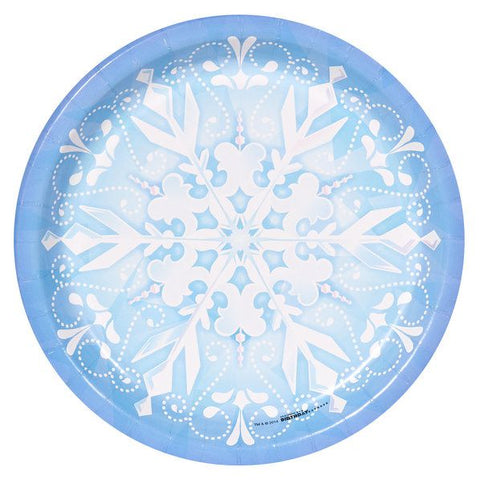 Snowflake Luncheon Plates (8 pack)