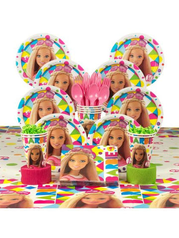 Barbie Deluxe Birthday Kit