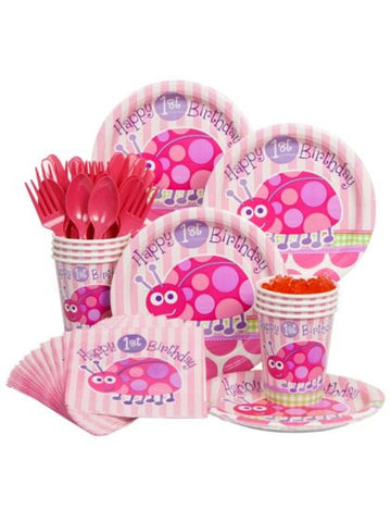 First Birthday Ladybug Party Kit Serves 8