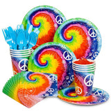 Tie Dye 60s Party Kit (Serves 8)