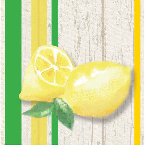 Lemonade Days Beverage Napkins (16 Count)