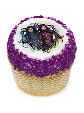"Descendants 2"" Edible Cupcake Topper (12 Images)"