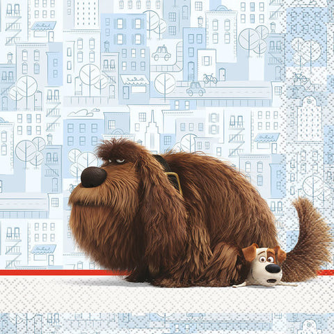 The Secret Life of Pets Luncheon Napkins (16 Count)