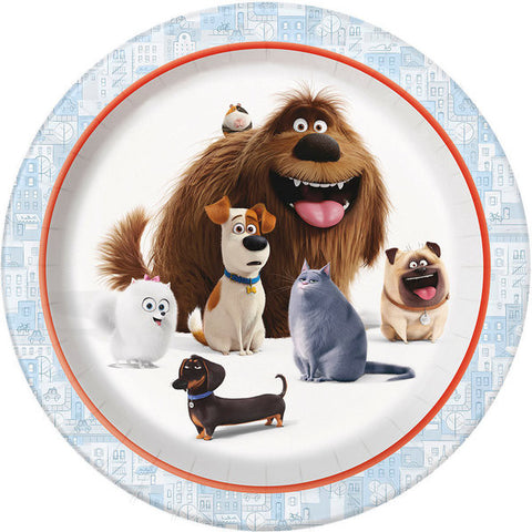 "The Secret Life of Pets 9"" Luncheon Plates (8 Count)"