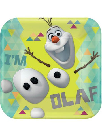 "Olaf 9"" Luncheon Plates (8 pack)"