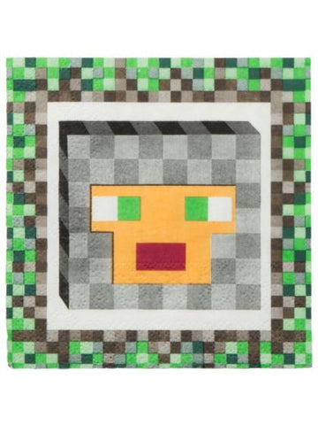 Minecraft Beverage Napkins (16 pack)