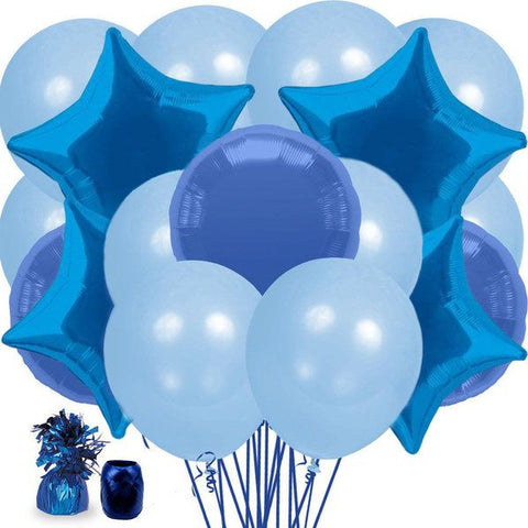 Blue Balloon Bouquet Kit
