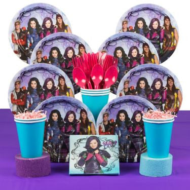 Descendants Birthday Party Deluxe Kit (serves 8)