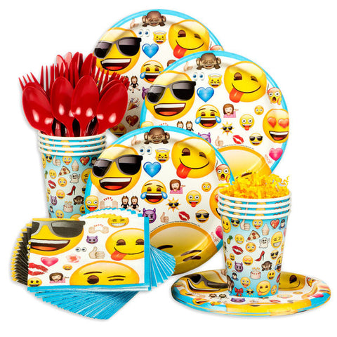 Emoji Standard Birthday Kit (Serves 8)