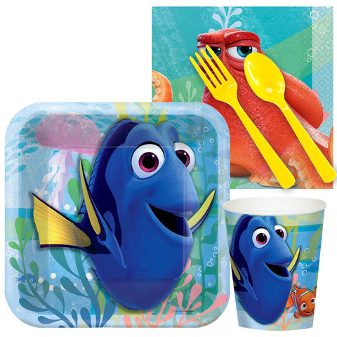 Finding Dory (official) Party Kit- Serves 8