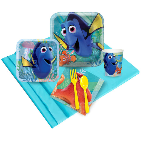 Finding Dory (official) Deluxe Party Kit- Serves 8