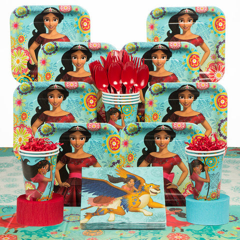 Elena of Avalor Deluxe Birthday Kit (serves 8)