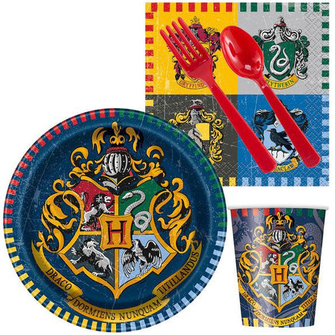 Harry Potter Party Standard Tableware Kit (Serves 8)
