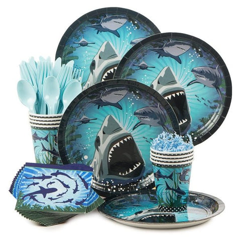 Shark Party Standard Birthday Kit (Serves 8)