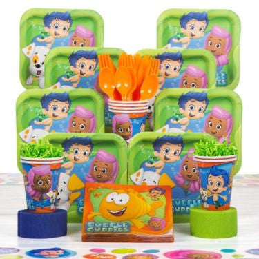 Bubble Guppies Birthday Party Deluxe Kit (serves 8)