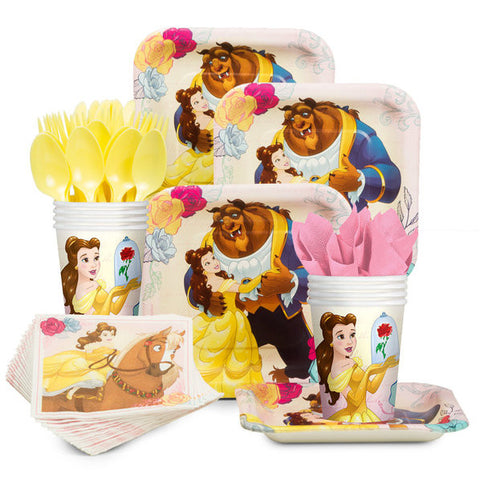 Beauty And The Beast Birthday Kit (serves 8)