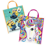 Decorative Plastic Tote Bag (Multiple Themes)