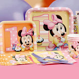 Minnie Mouse 1st Birthday Deluxe Kit Serves 8 Guests