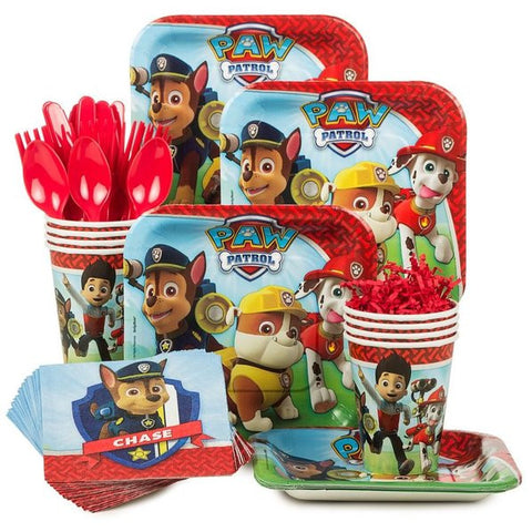 Paw Patrol Standard Birthday Kit (Serves 8)