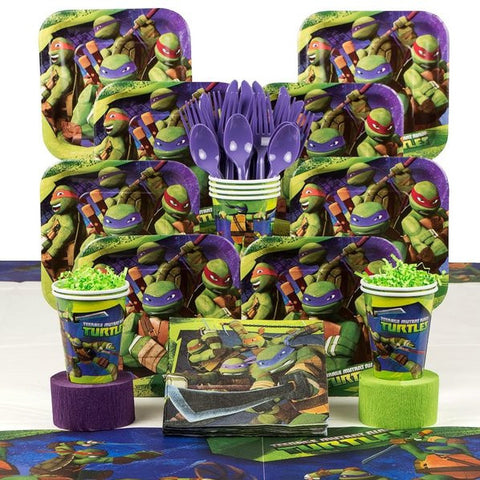 Teenage Mutant Ninja Turtles DELUXE Birthday Kit (serves 8)
