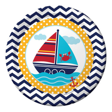 "Ahoy Matey 9"" Lunch Plates (8 Count)"