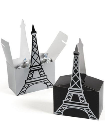 Paris Eiffel Tower Favor Boxes (6pk)