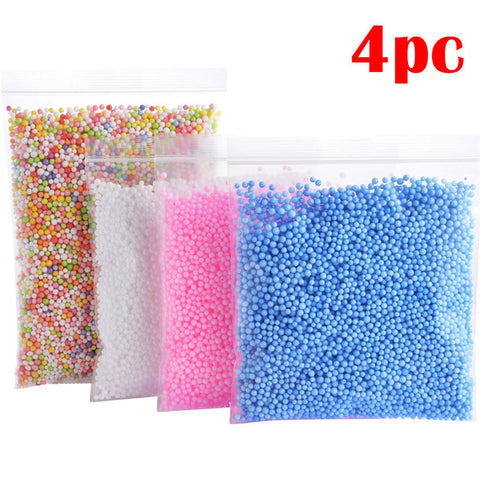 4 Bags Colorful DIY Craft Foam Balls