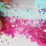 Crystal Dynamic Sand Cotton Fluffy Slime