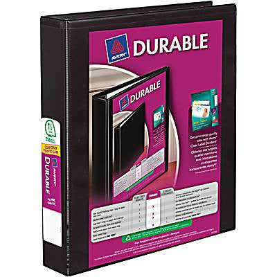 Avery® Durable Slant D-Ring View Binder, 1-1/2""
