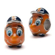 Syracuse Orange Mascot Bead Charm Set of Two