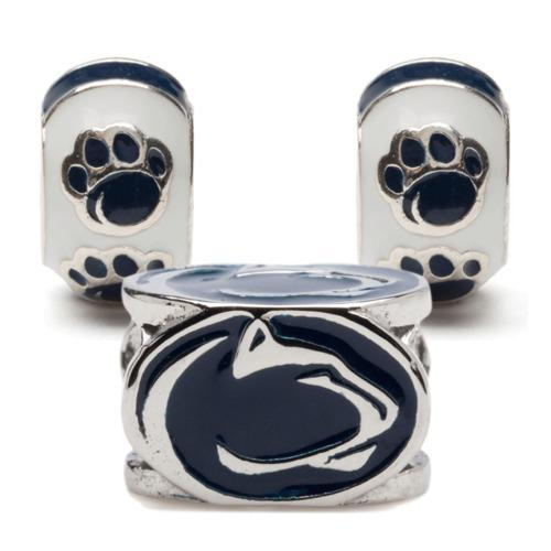 Penn State Bead Charm Set of Three