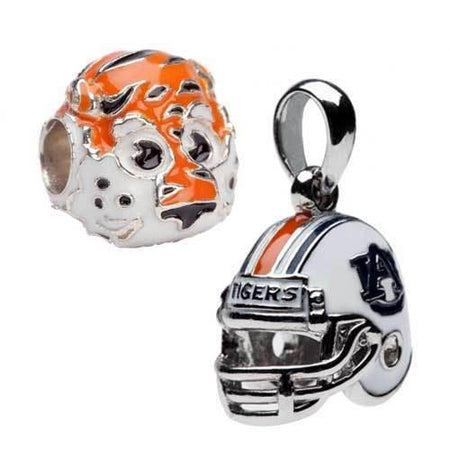 Auburn Charm Bead Orange AU